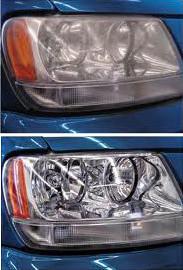 headlight restoration after
