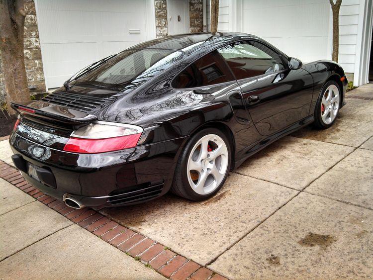 Black Porsche Turbo