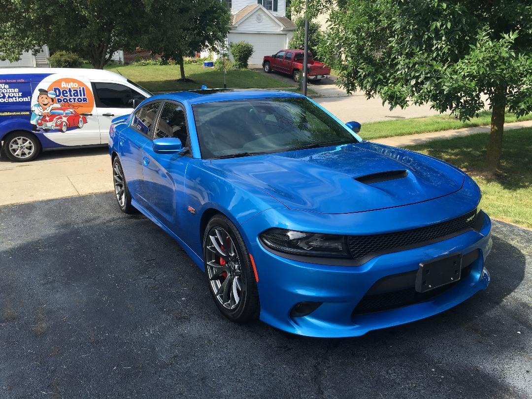 Blue Dodge Charger