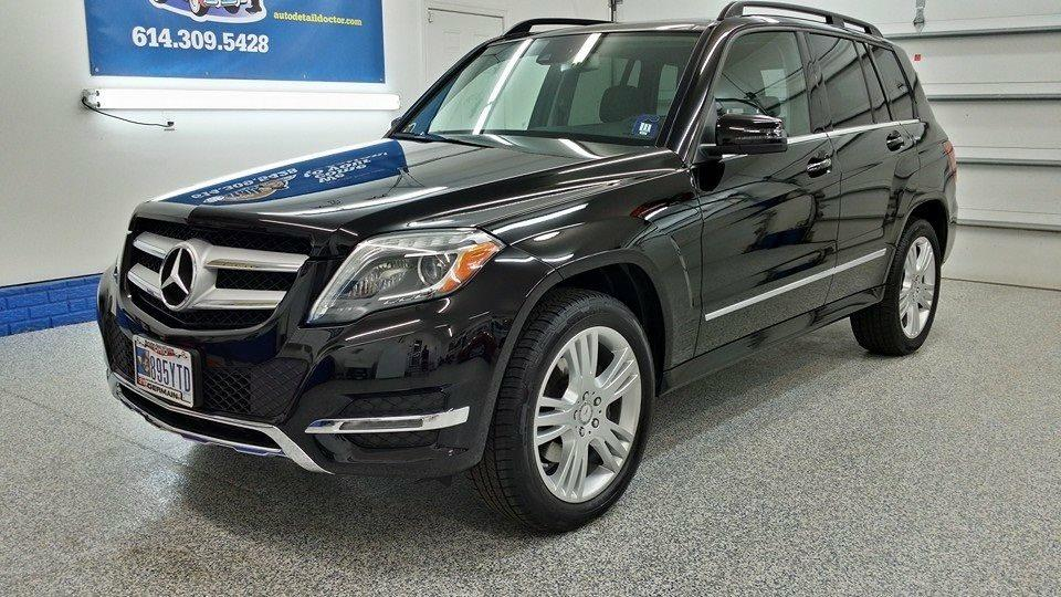 Black Mercedes SUV