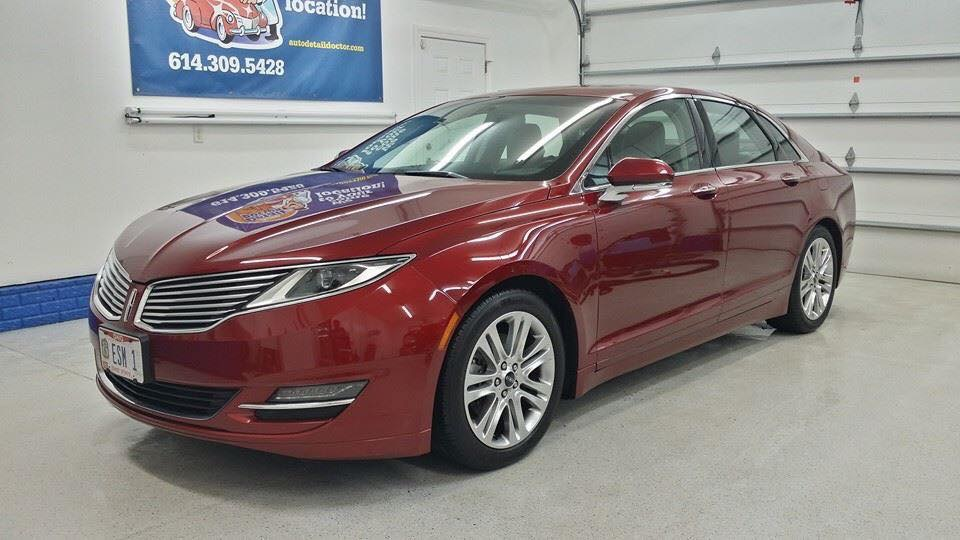 Red Lincoln MKZ