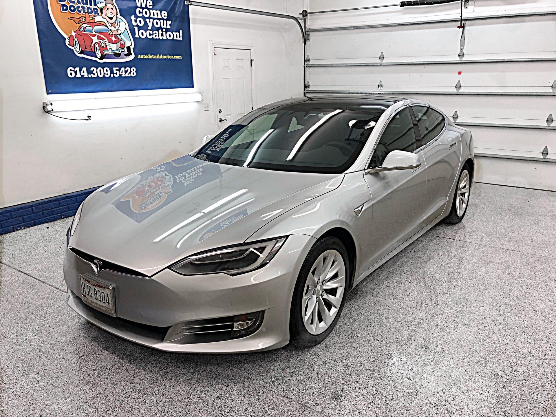 Silver 2018 Tesla Model S